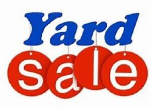 Yard Sale - Saturday, May 19th in Sackville