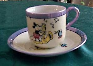 Mickey Mouse Demitasse Cup and Saucer