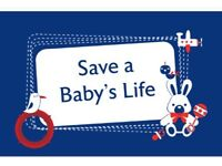 Save a baby's life first aid