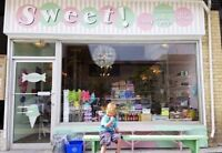 Ice Cream Candy Store Downtown Guelph ft/pt