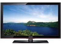 "Samsung 42"" lcd tv full hd 1080 built in free view"