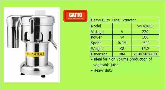 Juice Extractor Heavy Duty Industrial New Electrical