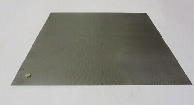 Perforated Staggered Steel Sheet .048 Thick X 24 X 24 .140 Hole Dia.
