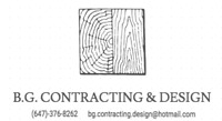 B.G. CONTRACTING AND DESIGN