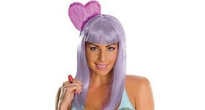 Purple Katy Perry Wig (New Katy Perry Secret Wishes Deluxe California Gurl Wig Purple Hair Pink)