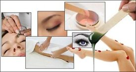 WAXING - FULL BODY WAX ONLY £45!! - ALSO AVAILABLE THREADING/ TINTING/ GELISH NAILS