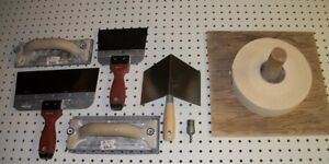 Lot of 8 drywall tools