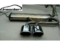 Peugeot 107 Citroen C1 Toyota Aygo IRMSCHER Genuine Twin Centre Exhaust Silencer