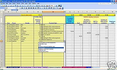 CIS scheme subcontractor accounts & tax software 18-19