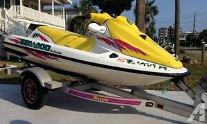 NEED SOLD:SEA DOO GTI New Engine only 3 hours ! Comes w/ Trailer