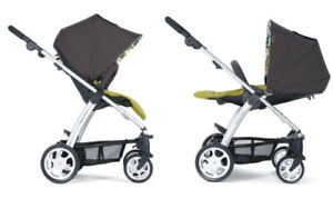 Mamas & Papas Sola Stroller with car seat and adapter.....