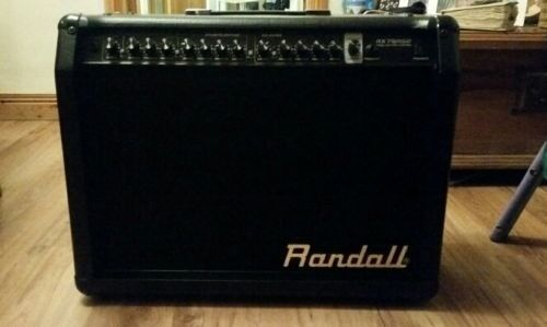 Randall RX75RG2 75Watt Guitar Amp - Ungigged and in mint condition