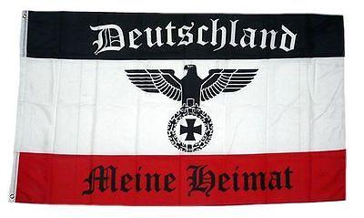 Flagge / Fahne Deutschland Meine Heimat Deutsches Reich Hissflagge 90 x 150 cm