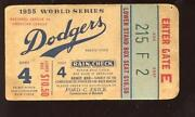 1955 World Series Ticket