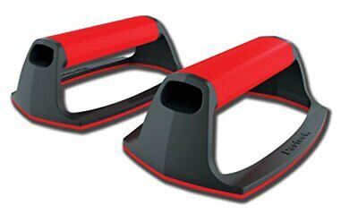 Pushup Stands For Home Floor Wourout Handles Traning Stable Base Black Red Gym