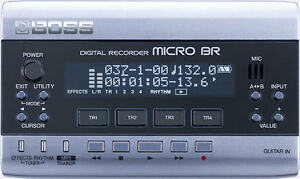 MICRO BR  Digital Recorder / Guitar Amp Emulator