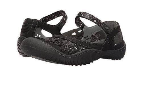 JBU by Jambu Womens Wildflower sandals shoes Size 8  black  NEW!