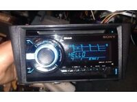 USED Sony WX-GT90BT Bluetooth MP3/USB/AUX Audio System