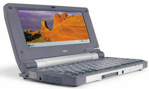NEC MobilePro 900c Rare Vintage Handheld PC w/ Std. Battery, Charger, Stylus