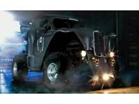 MOVIE / PROMOTION VEHICLE MONSTER TRUCK - BAT TRUCK - BATMAN - HALLOWEEN SPOOKY