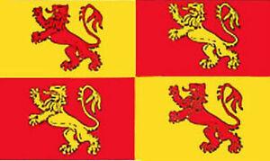 Owain Glyndwr Welsh Flag Meibion Cymru Wales Cymdeithas Medieval Prince 5 x 3