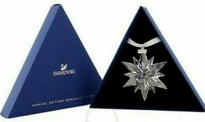 SWAROVSKI 2017 Annual Edition Snowflake Ornament  (NEW IN BOX) Retail $79.00