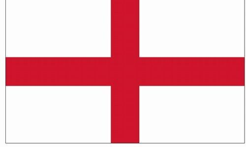 CROSS OF ST GEORGE England Flag  3x5 ft Outdoor Print Nylon MADE IN USA