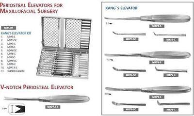 Periosteal Elevator Kit For Maxillofacial Surgery Mxs-01  650