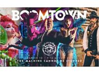 1 x Adult Boomtown Festival Weekend Ticket with Eco Bond - 09/08/18 to 12/09/18