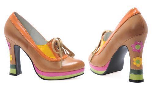 Disco Platform Shoes Womens