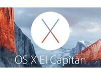 Apple OS X El Capitan, Yosemite or Mavericks USB Full Installation