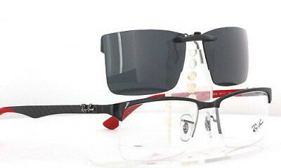 Custom Fit Polarized CLIP-ON Sunglasses For Ray-Ban RB8411 5