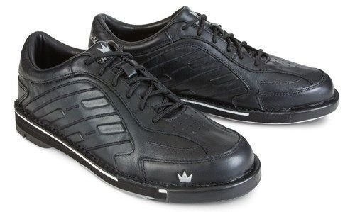 Brunswick Team Brunswick Mens Right Handed Interchangeable Bowling Shoes Wide