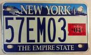 New York Motorcycle License Plates