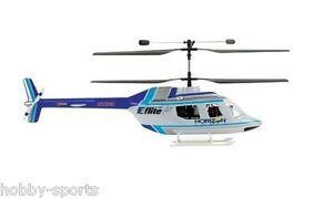 E-Flite Blade CX / CX2 / CX3 JetRanger Body Set Blue/Silver EFLH1264