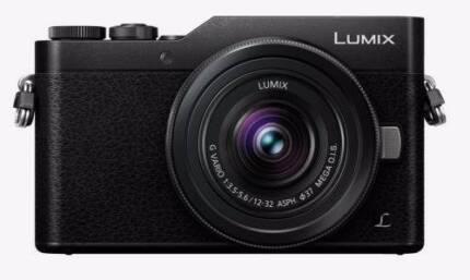 NEW Panasonic Lumix GF9K Digital Camera (Black/Silver) 1 YR WTY
