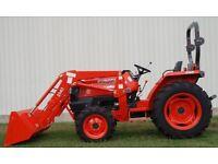 Wanted garden tractor kubota newholland iseki