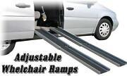 Telescoping Wheelchair Ramp