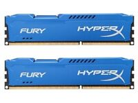 HyperX Fury 16GB 1600MHz DDR3 CL10 DIMM (Kit of 2) Memory