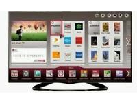 "LG 42"" LED smart wifi tv builtin USB media player HD freeview fullhd 1080p"