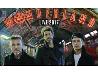 2 x standing tickets Take That 8th May Newcastle