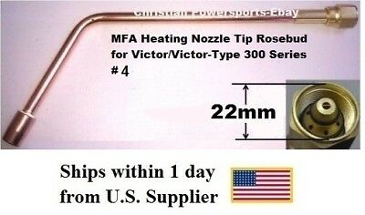 Mfa Heating Nozzle Tip Rosebud For Victorvictor-type 300 Series 4 1187-4