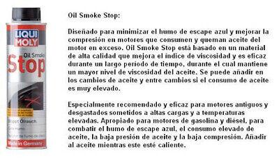 LIQUI MOLY 2122 limpiador ADITIVO REDUCTOR DE HUMO DE ACEITE (OIL SMOKE...