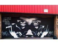 Graffiti artist / street artist available for commission