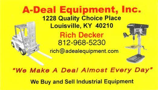 ADEAL EQUIPMENT