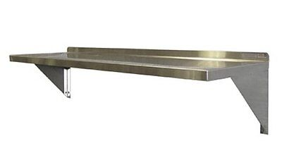 2 Stainless Steel Wall Mount Shelves- 12 X 24 X 12 - Restaurant -food Service