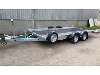 "New Woodford 14' x 6'6"" Car Transporter WBT111"