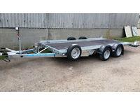 "Car Transporter Trailer - Woodford WBT 111 14' x 6'6"""