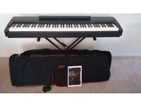 Yamaha P155 Keyboard - ex Display with bag, x-stand, damper and manual