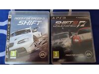 PS3 Need For Speed Shift 1+2